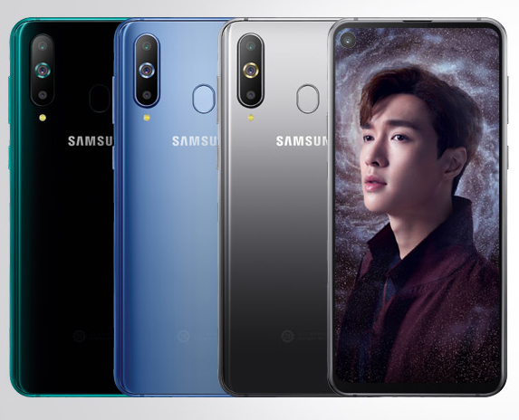 Samsung's Galaxy A8s is the first phone with a punch-hole front camera