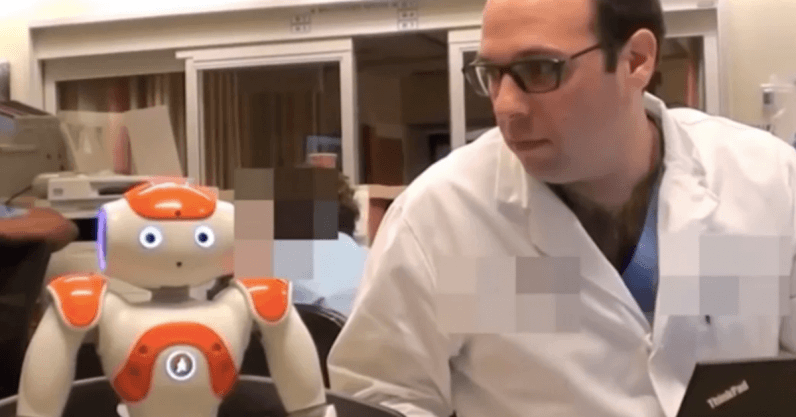 Researchers developed an AI robot that can assist with childbirth