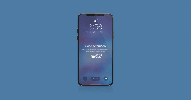 How to add a wake up weather forecast to your iPhone Lock Screen