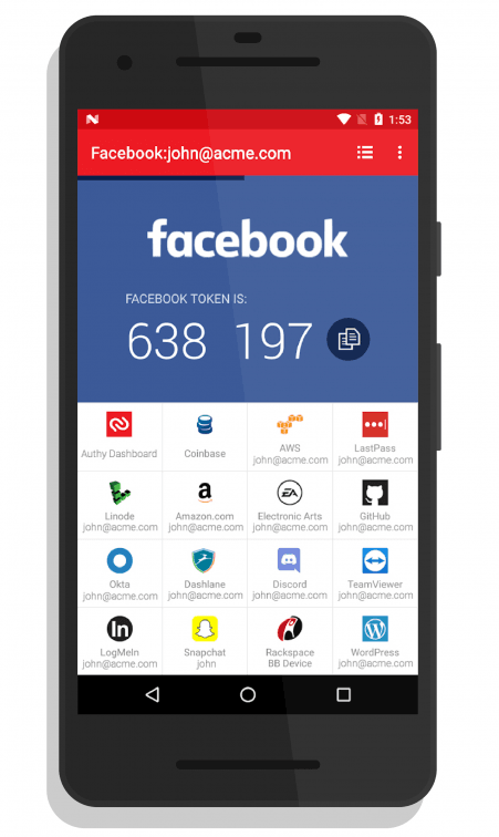 Two-factor authentication apps like Authy make it easy to secure your account