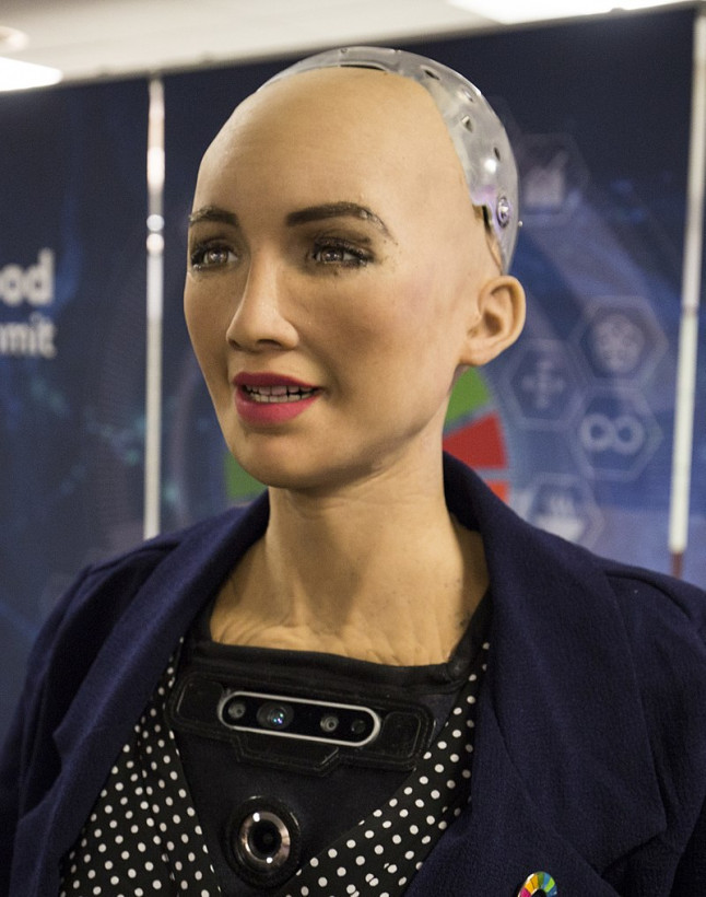 Watch us ask Sophia the robot humanity's biggest questions