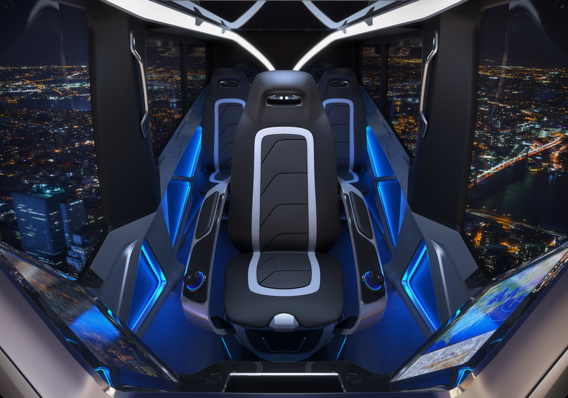 Uber Air Taxi Partner Unveils Its Bell Nexus Flying Car