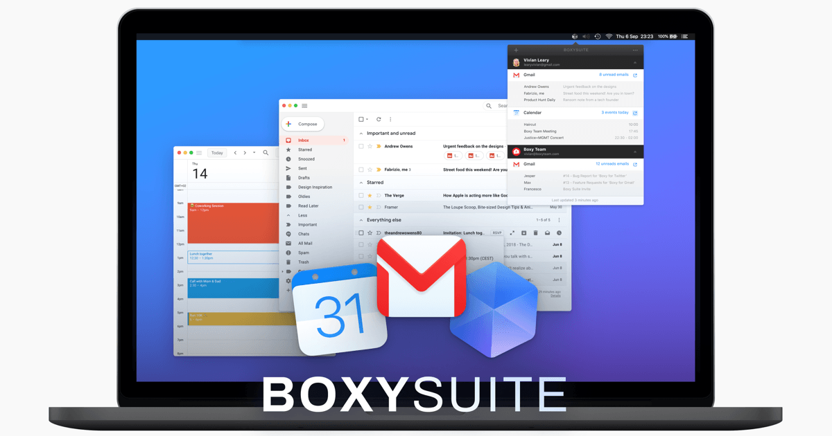 Boxy's macOS app is like Gmail, but sexier