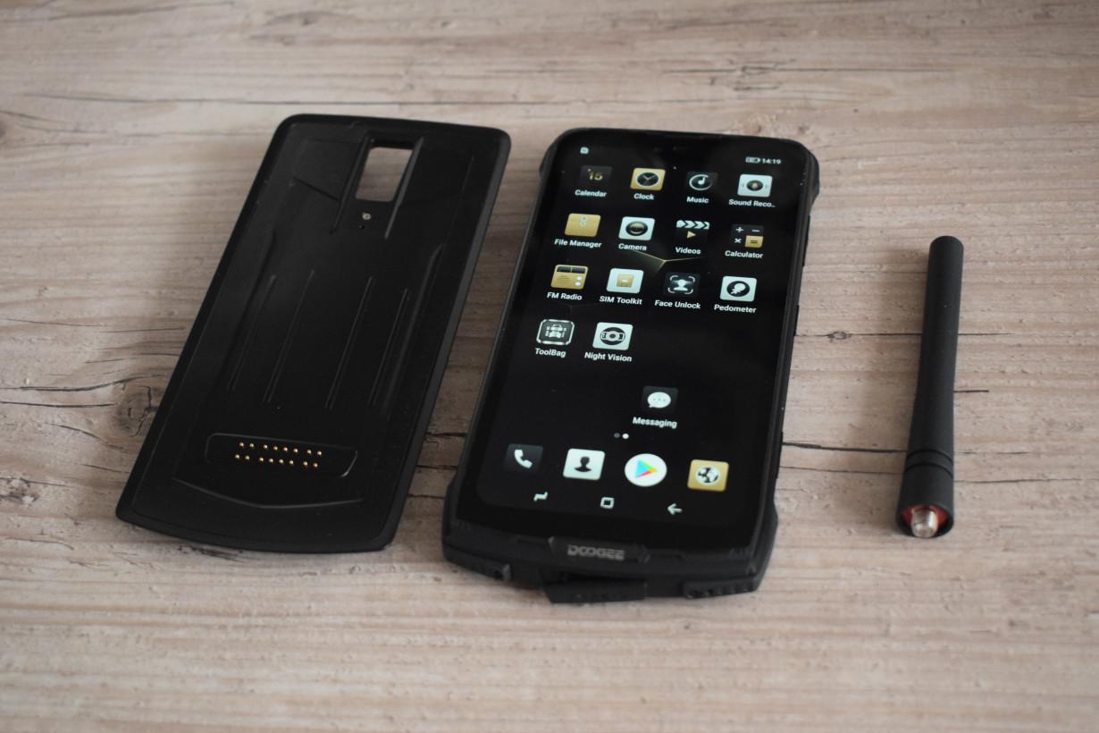 Hands-on: The Doogee S90 modular phone is weird as hell