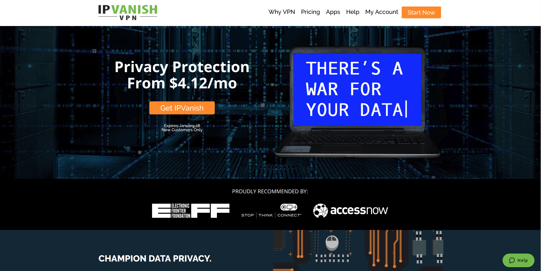 You'd be surprised how many VPNs are owned by the same company