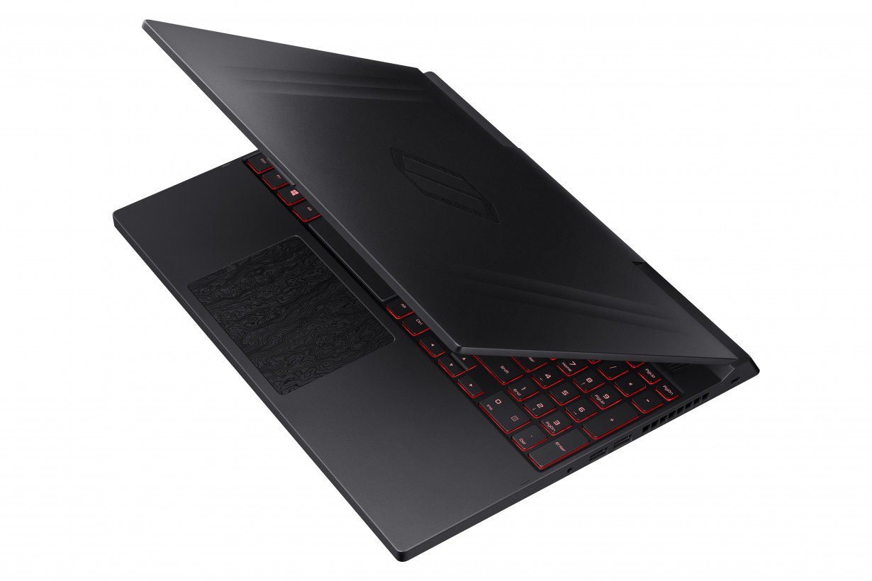 The Notebook Odyssey features a more discreet look than other gaming laptops