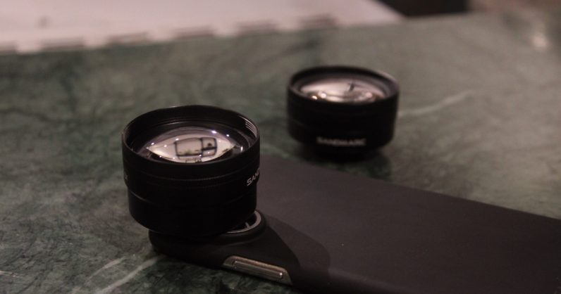 Sandmarc's $100 iPhone lenses are a must for photo nerds