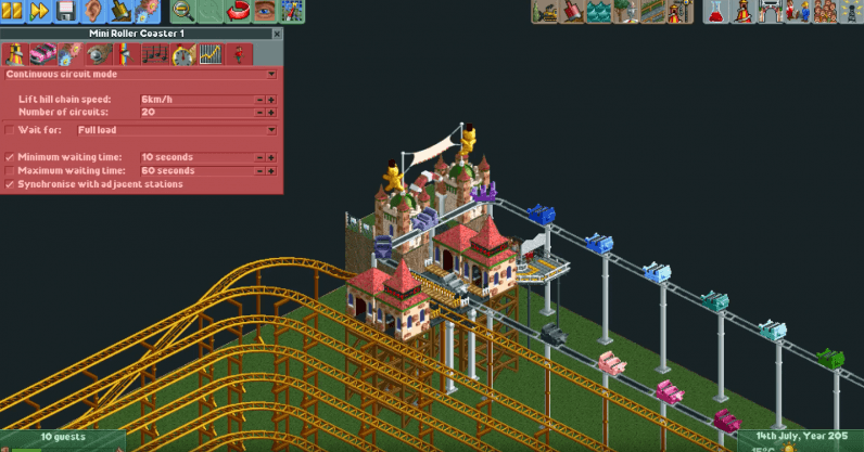 Roller Coaster Tycoon enthusiast created a coaster that takes 12 years (and real bladder control) to ...