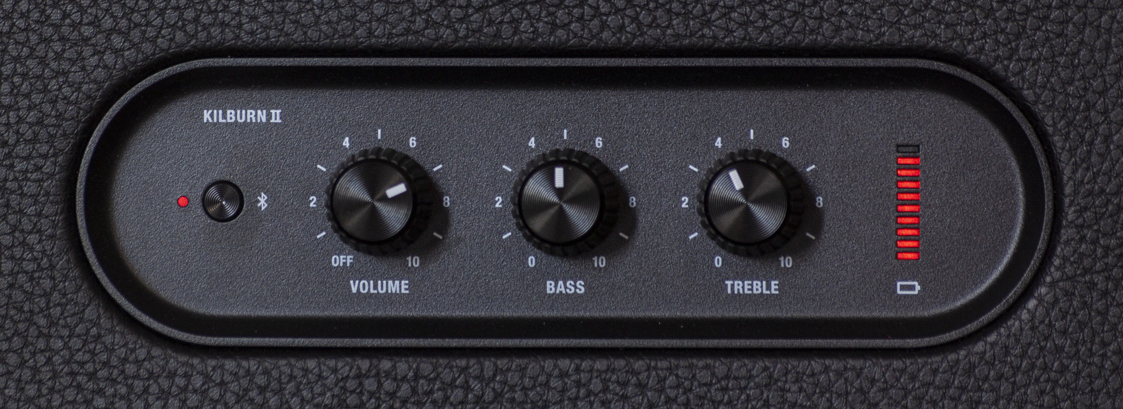 The Kilburn II lets you make minor adjustments to bass and treble