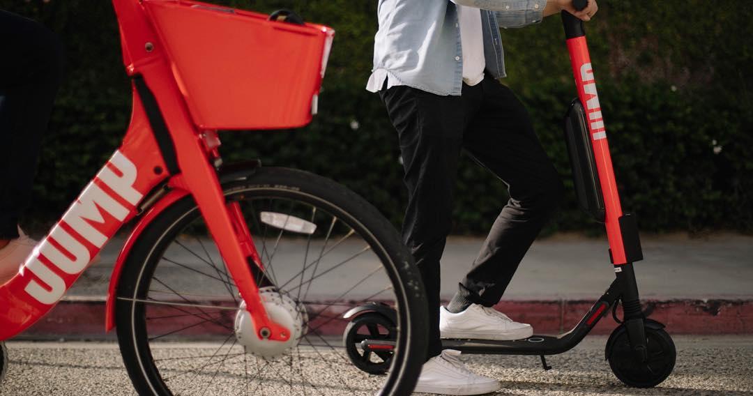 """Résultat de recherche d'images pour """"jump scooters uber"""""""