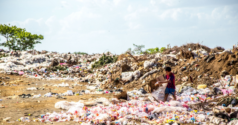 Recycling the worlds plastic garbage could buy you the NFL, Apple and Microsoft