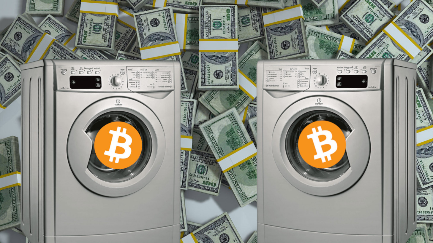 76% of laundered cryptocurrency was washed with an exchange service