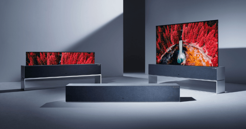 LG's crazy rollable TV is coming this spring