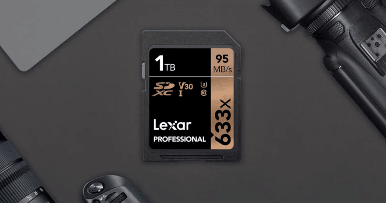 Lexar reveals first commercially available 1TB SD card