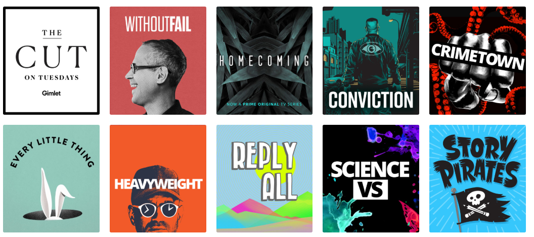 Gimlet Media produces several hit podcasts, including Reply All and Homecoming
