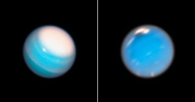 Here's what the weather looks like on Uranus and Neptune