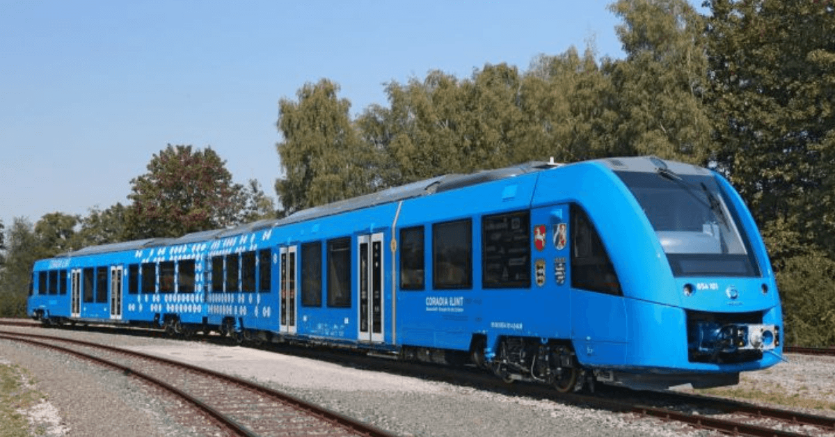 New hydrogen trains could put an end to diesel