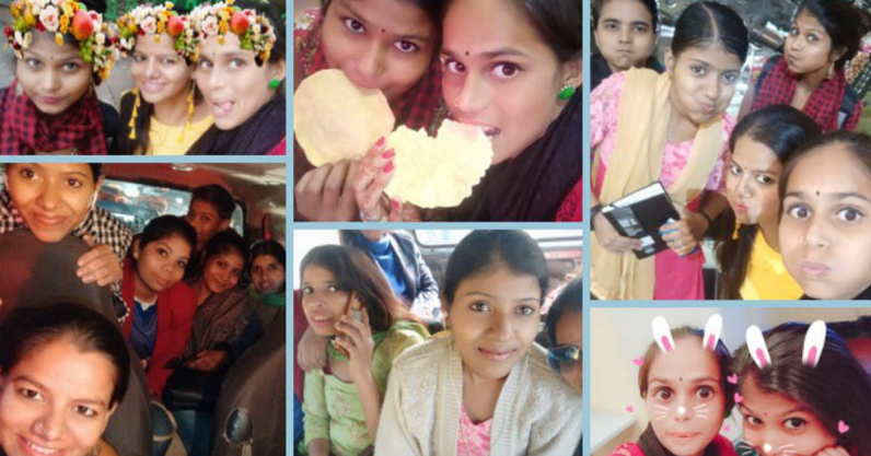 How selfies help Indian women from Delhi's outskirts claim their right to the city