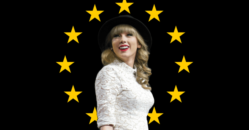 Taylor Swift is watching you watching her