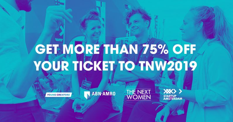 Here's how you can get more than 75% off your TNW2019 ticket