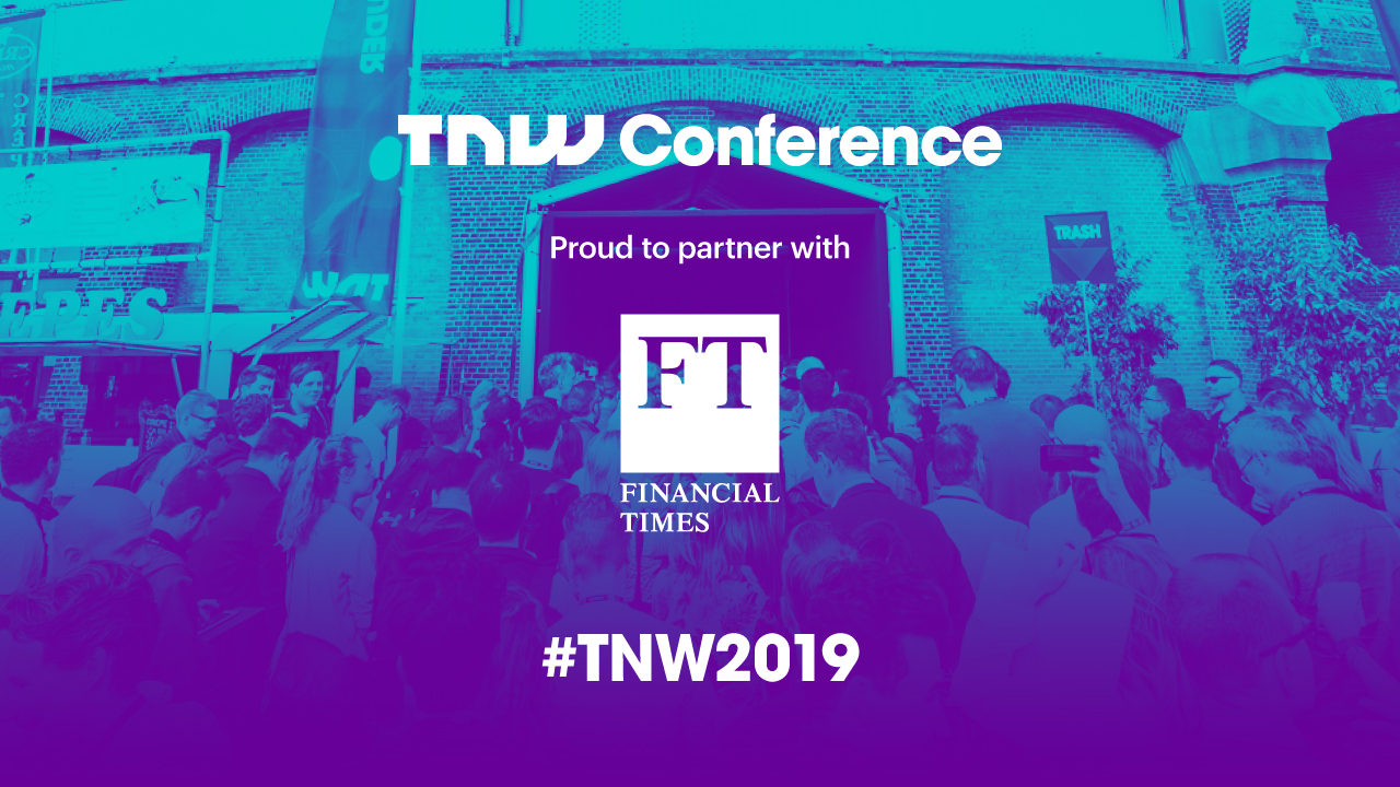 TNW and the Financial Times partner for TNW2019