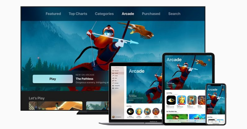 Apple announces Arcade, its new game subscription service