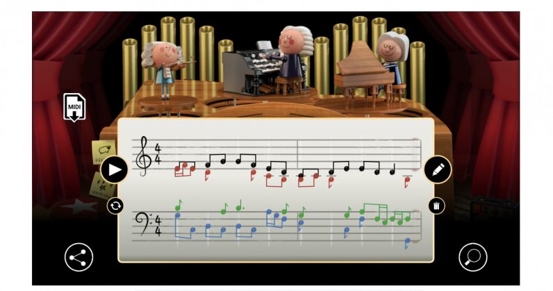 Google's AI-powered Doodle to celebrate Bach's birthday is its best ever