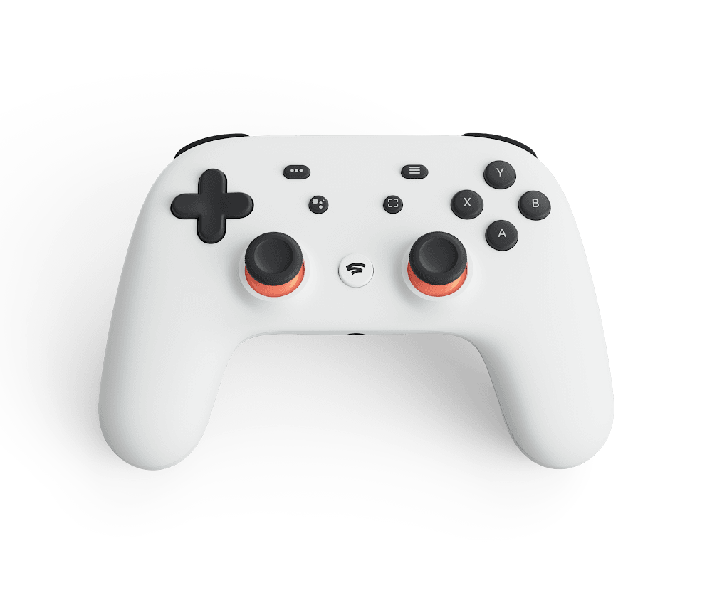 Google's Stadia controller connects to the company's data centers directly over Wi-Fi, to reduce input lag