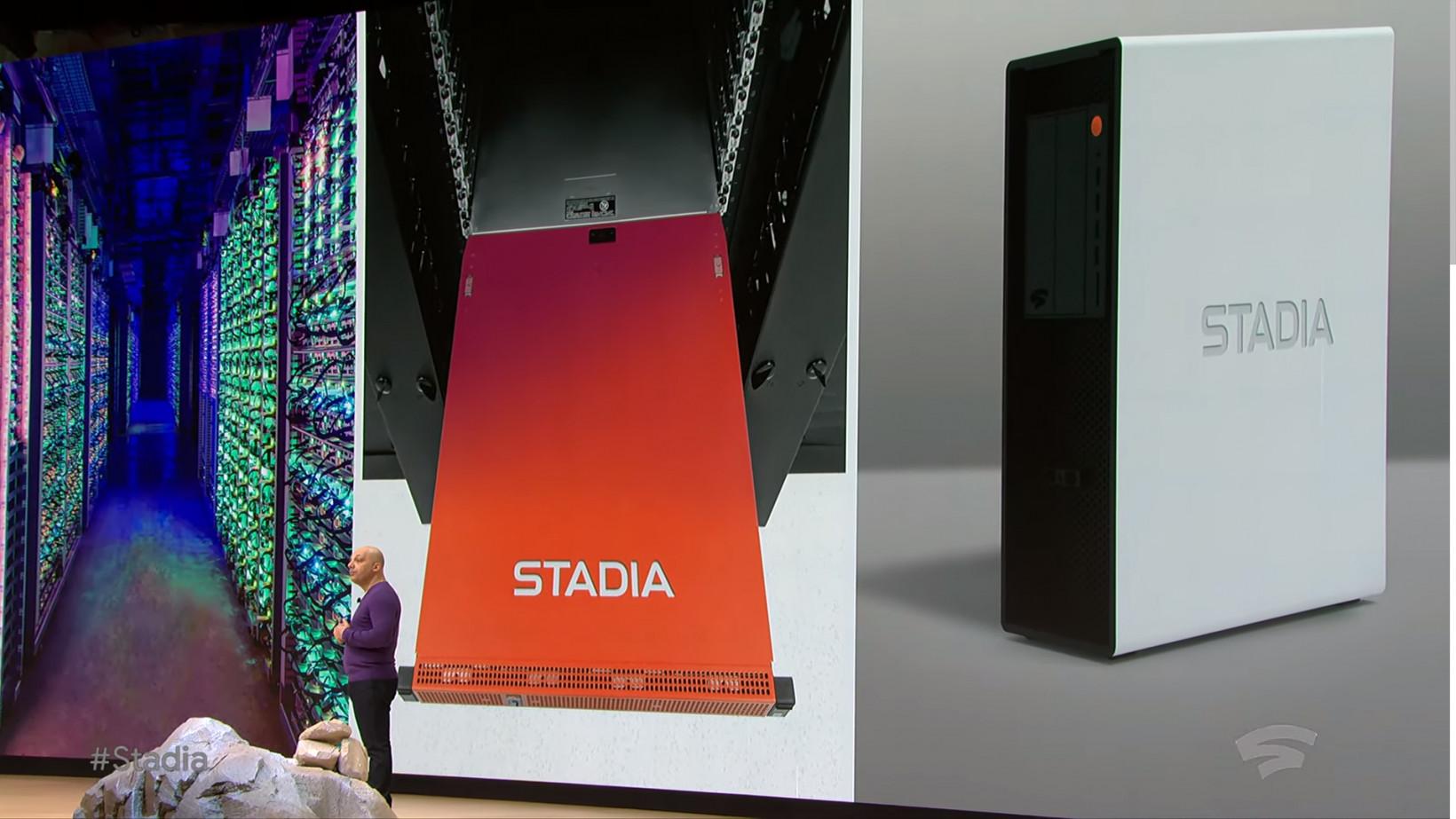 Google dice que el hardware del servidor Stadia es más poderoso que un PS4 Pro y un Xbox One X combinados