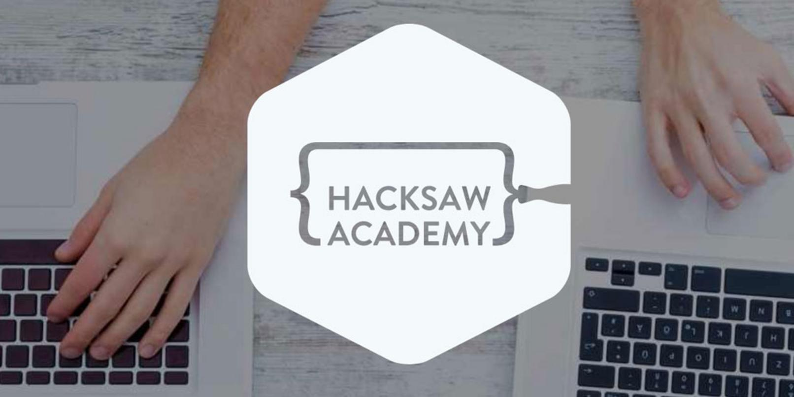 Hacksaw Academy teaches you real programming skills in 30-minute sprints