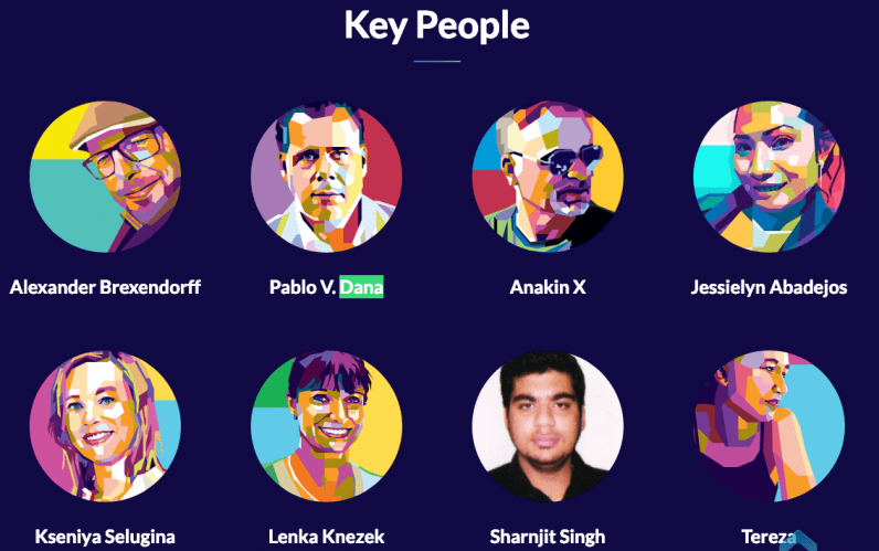 Quantocoin, important, key people