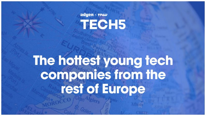 Here are the 5 hottest startups in… the rest of Europe ¯\_(ツ)_/¯