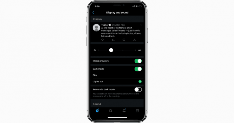 How to get Twitter's new 'Lights out' dark mode on iOS