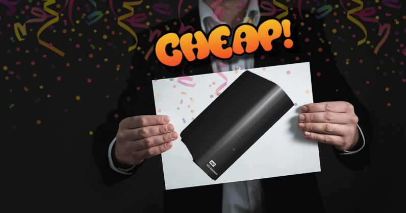 CHEAP: Fast, get 42% off this 6TB (!) Western Digital external HDD