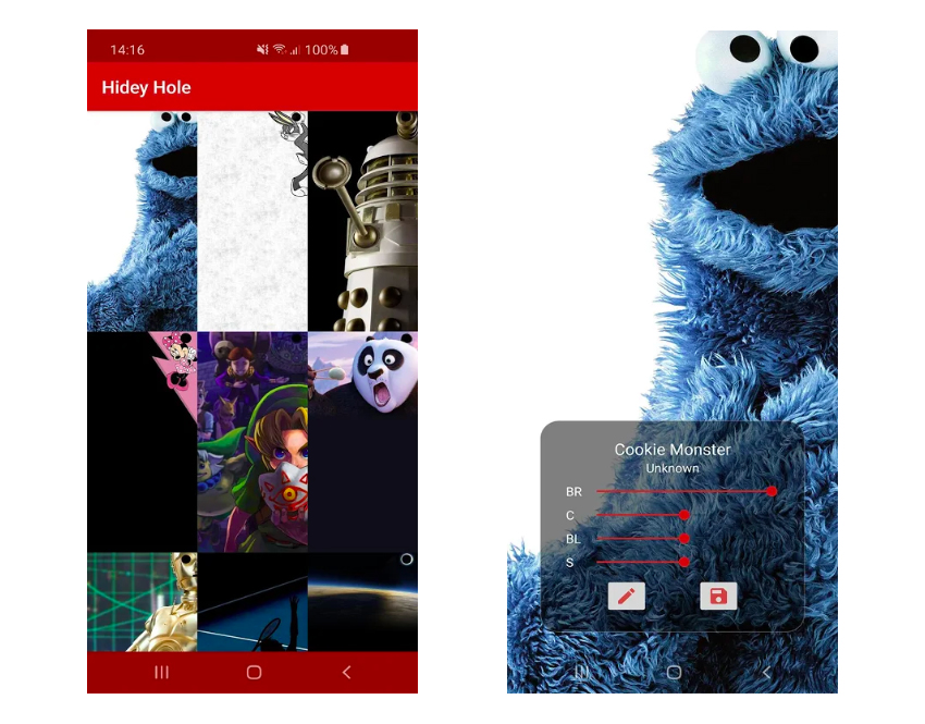 This App Collects Wallpapers Designed To Hide Galaxy S10 S Camera