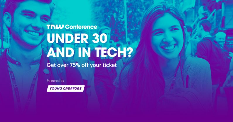 Under 30? Attend TNW2019 for just €149