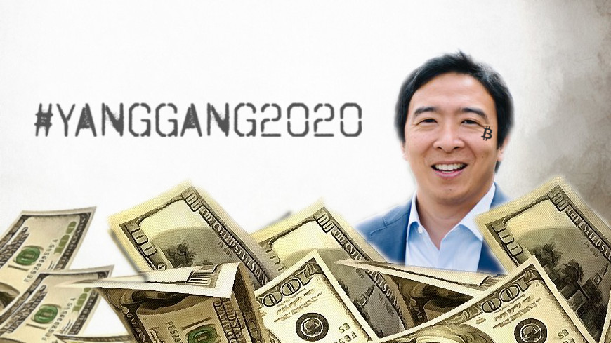 Here's how much 'Bitcoin Twitter' loves presidential candidate Andrew Yang