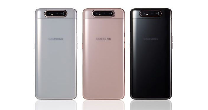 The Samsung Galaxy A80 takes selfies in a way that's totally insane, but completely inspired