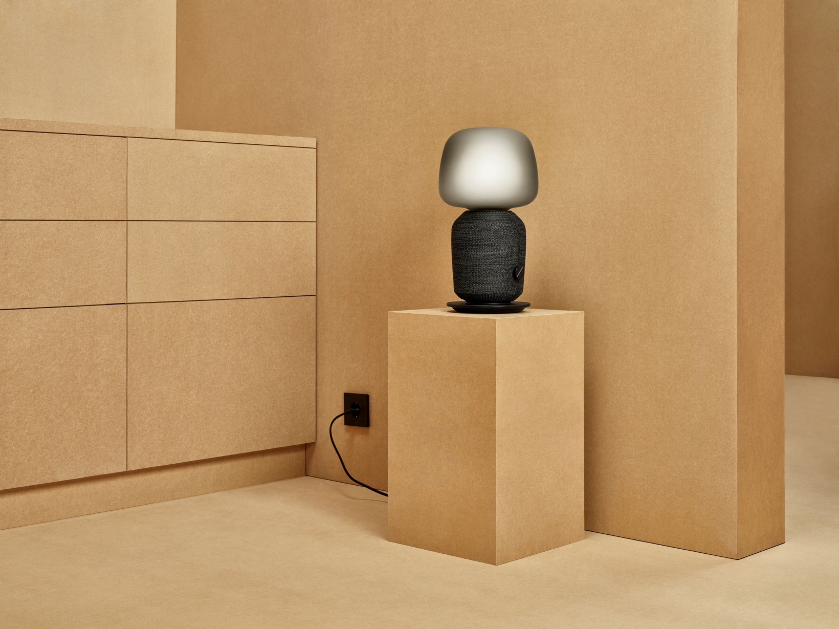 Ikea's Symfonisk works with Sonos' range of smart speakers, and can be controlled via the company's app