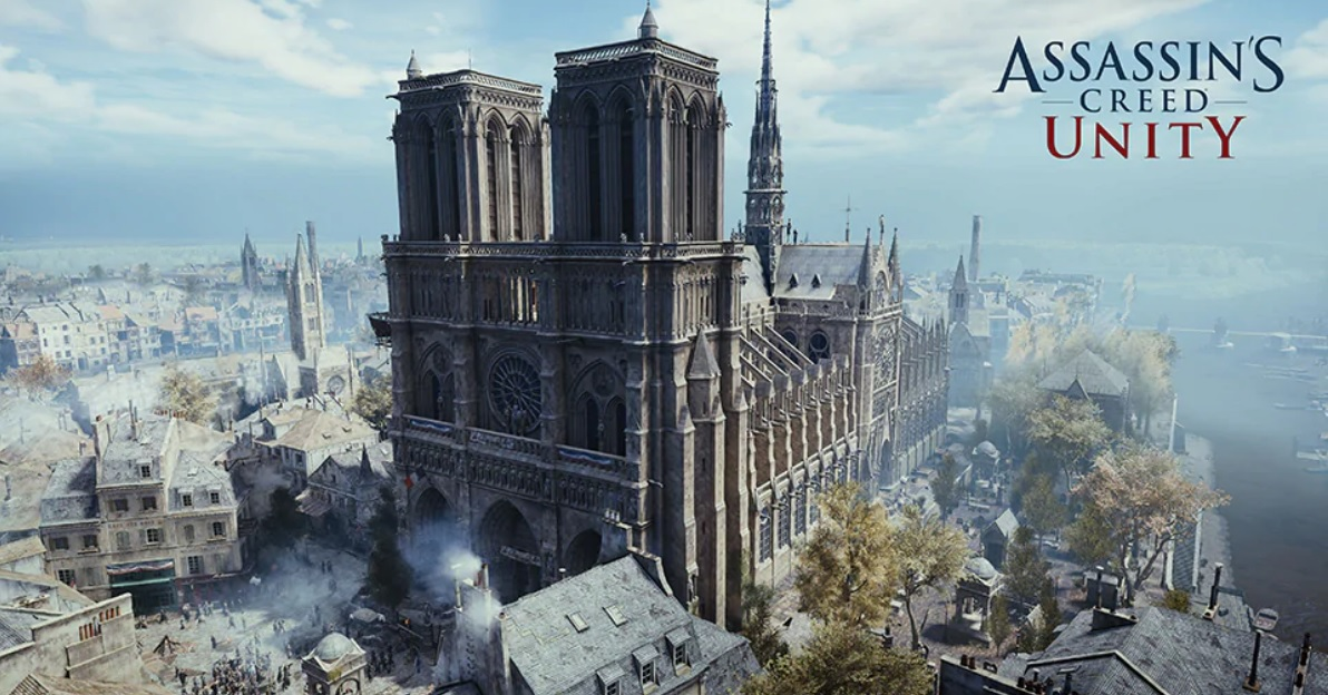 Ubisoft offers Assassin's Creed Unity free so you can visit Notre-Dame