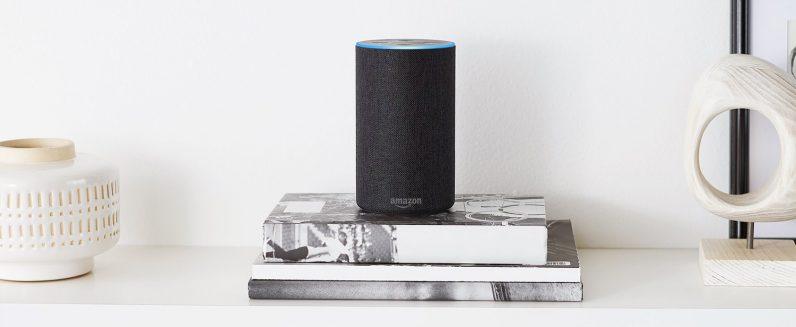 Amazon's Alexa-powered products can stream music and audiobooks via the company's services