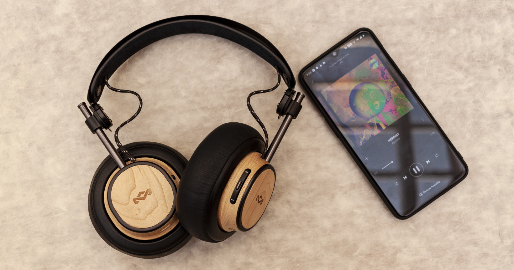 House of Marley's $200 headphones are as comfortable as they are stylish