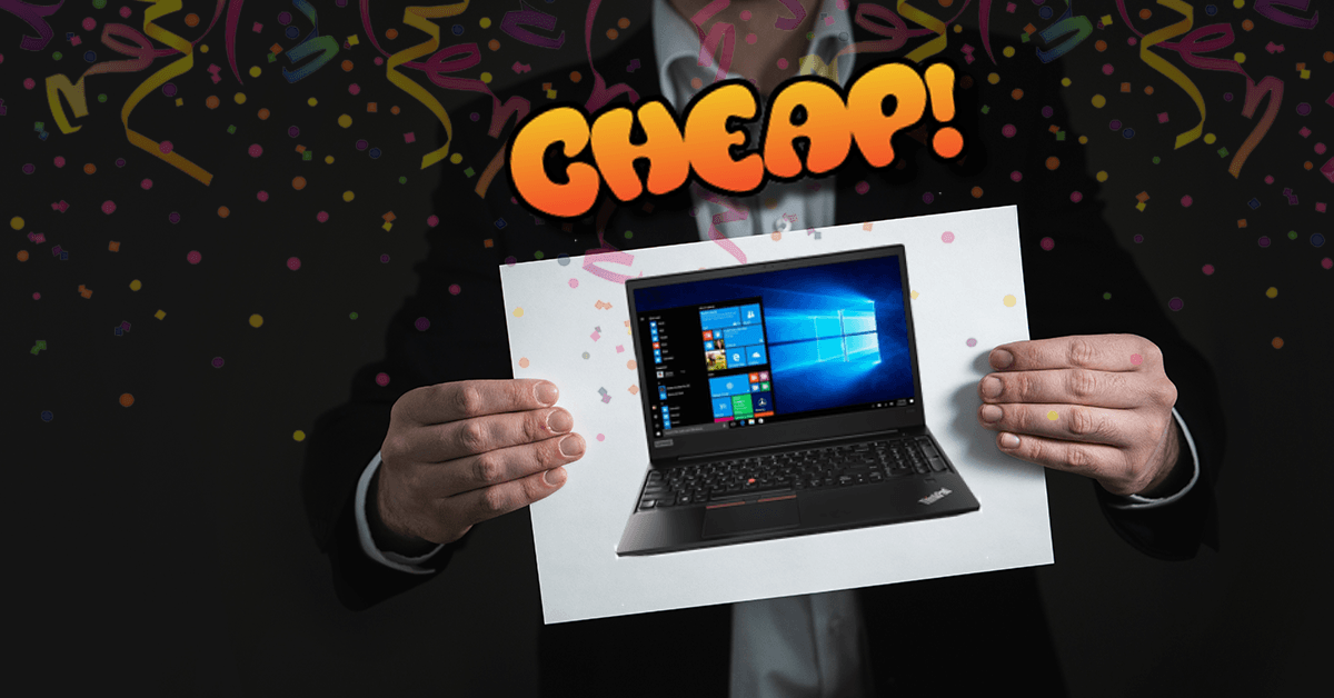 CHEAP: At $599, Lenovo's 2018 Premium ThinkPad is the best Easter gift for your fam