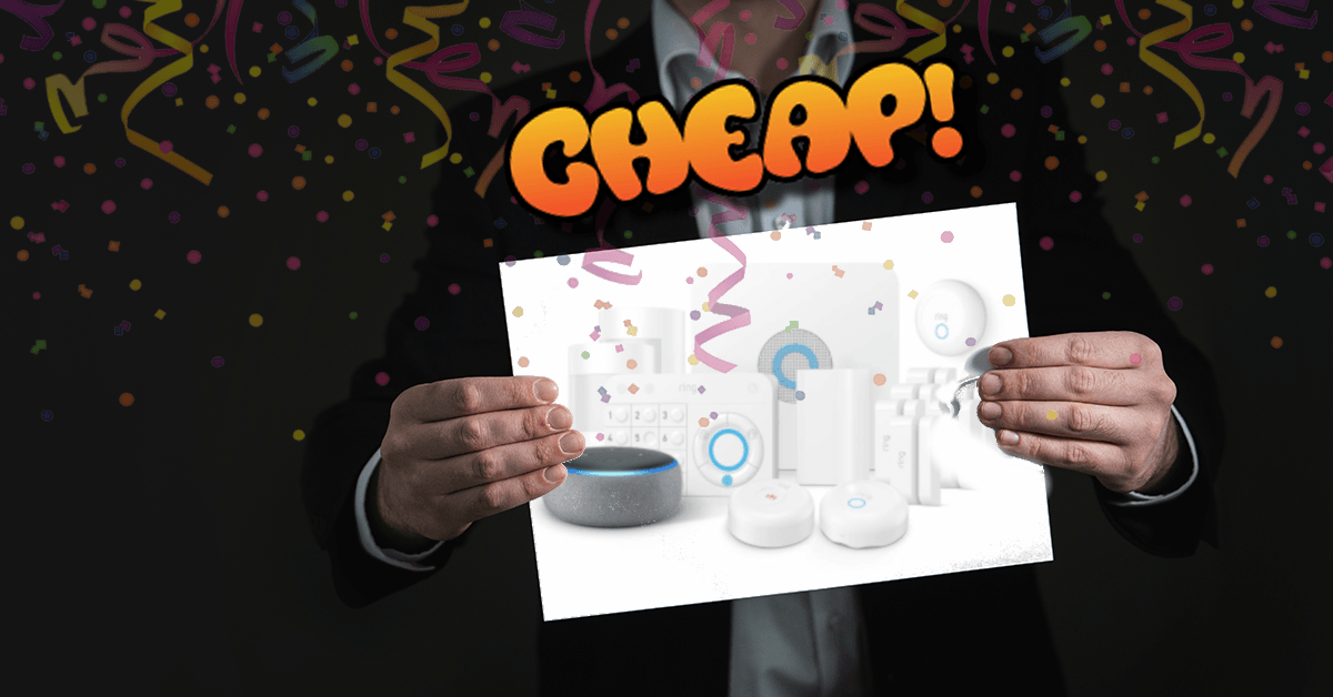 CHEAP: Protect your family with Ring's 15-piece home security kit for just $300