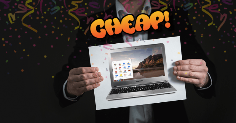 CHEAP: Even people without brains would understand 70% off a Samsung Chromebook is a great deal
