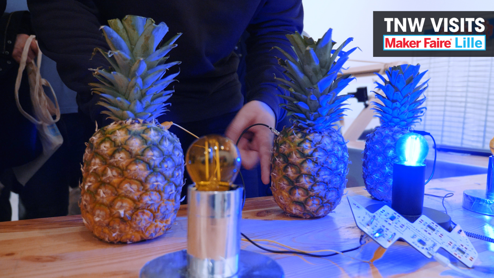 Video: Yep, this long-overdue device lets you play music on exotic fruit