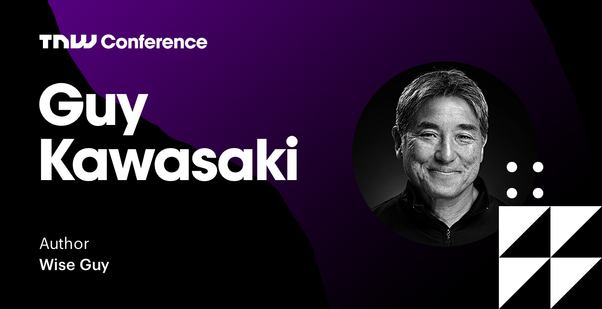 Guy Kawasaki's opening keynote is live at TNW2019 – tune in now!