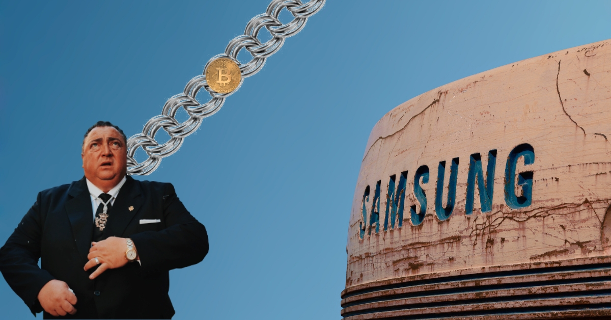 Samsung supposedly looking to launch its own Ethereum-based blockchain and token