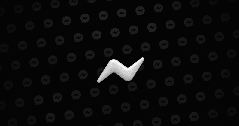 How to activate Facebook Messenger's new dark mode no emoji required