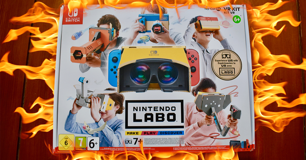 6 things we learned after playing with Nintendo's Labo VR kit